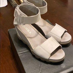 Joanie II Ankle Strap Wedges